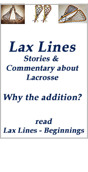 Lax Lines Beginnings